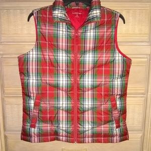 Lands'End women's puffer vest size small